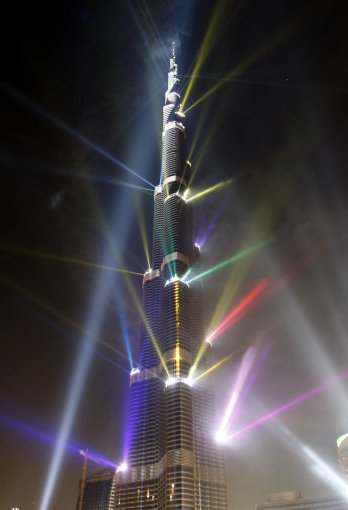Burj Khalifa aka Burj Dubai – Inaugration Ceremony Pictures