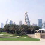 View of Dubai from Zabeel park Photos