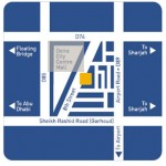 Location Map for Dubai Deira Center Shopping Mall