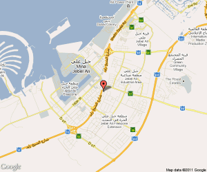 jebel ali free zone location map