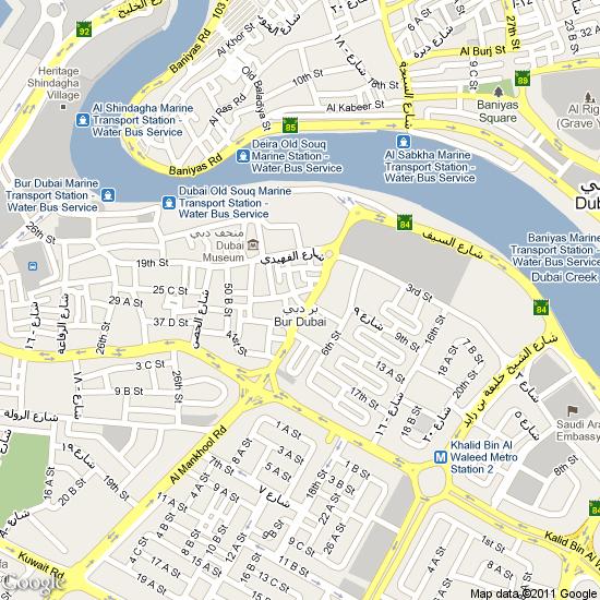 LocationMapBurDubaipng - Us embassy dubai location map