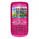 nokia c3 in pink color