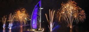 Celebrations for 2012 New Years Eve in Dubai and UAE