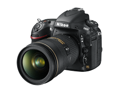 DSLR D800 Features and reviews