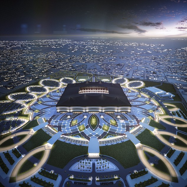 Stadium Lights Capacity: Qatar's New Stadium For FIFA World Cup 2022 Makes You Go WOW