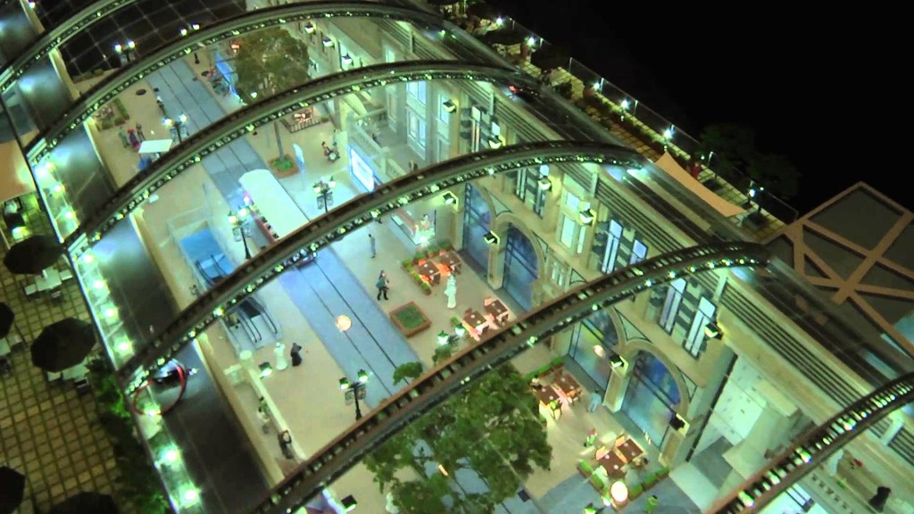 8 million sq feet shopping mall dubai launches mall of for World biggest hotel in dubai