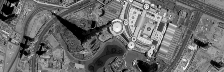Burj Khalifa Satellite View