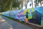 Dubai graffiti scroll