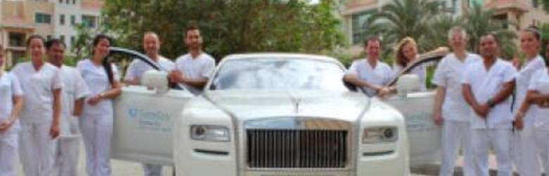 Visit Dentist in Dubai on Rolls Royce