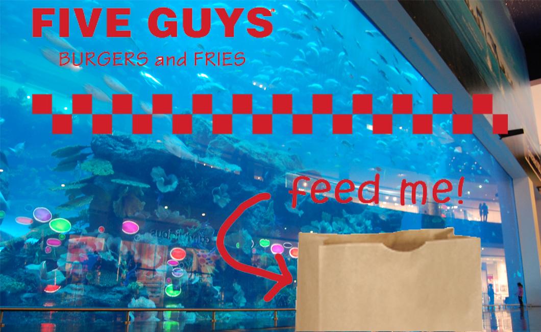 Five Guys Dubai Mall