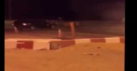 Dubai Police Impounding Cars
