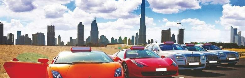 360 video of Dubai super cars meetup