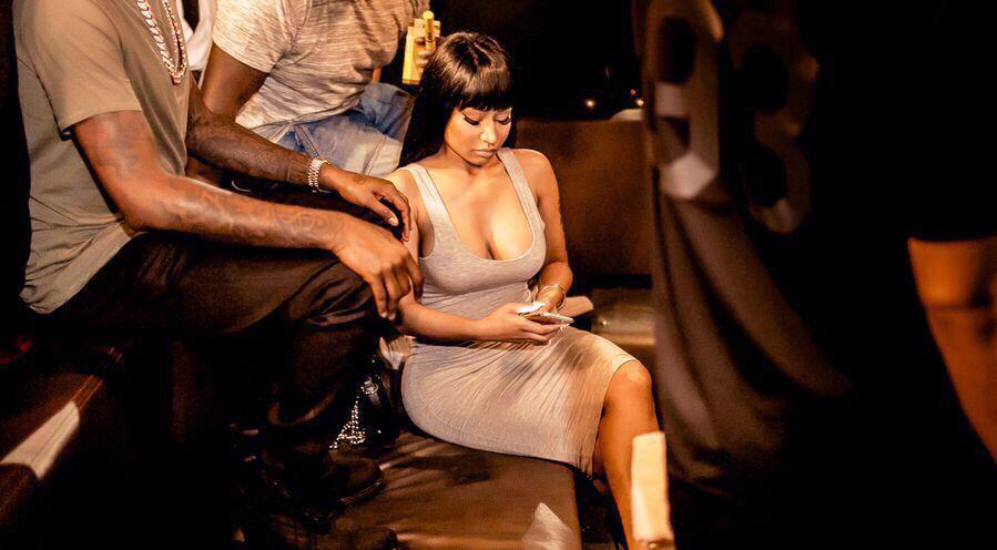 Nickie Minaj in Dubai