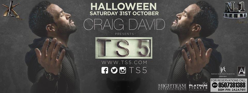 Craig David @ Halloween