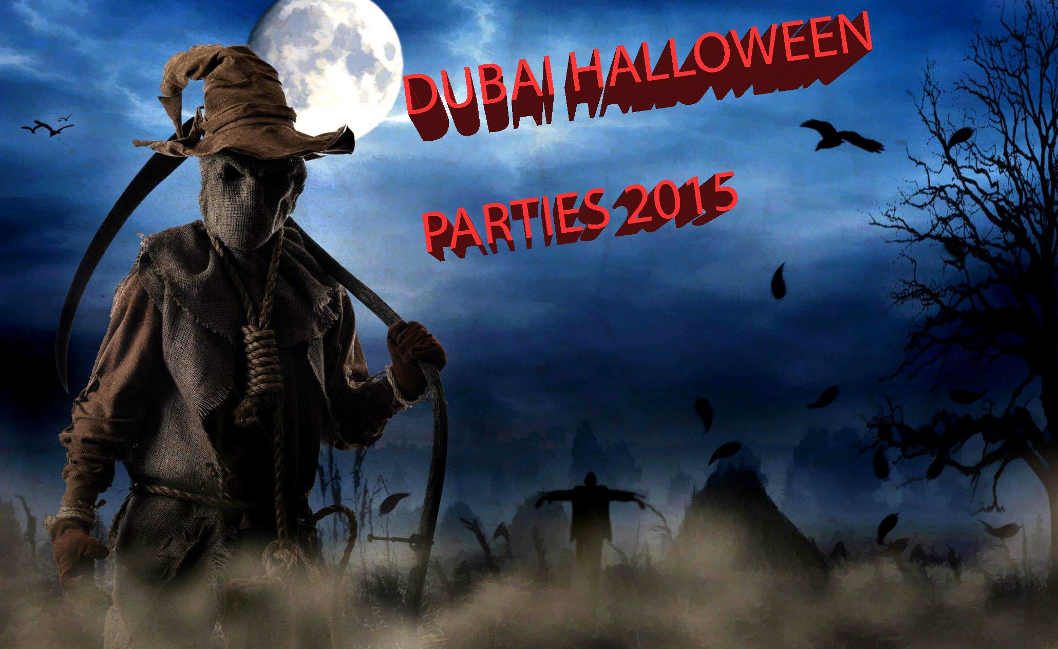List of halloween parties in dubai for 2015