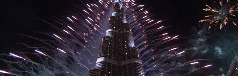 Where to see dubai fireworks 2016